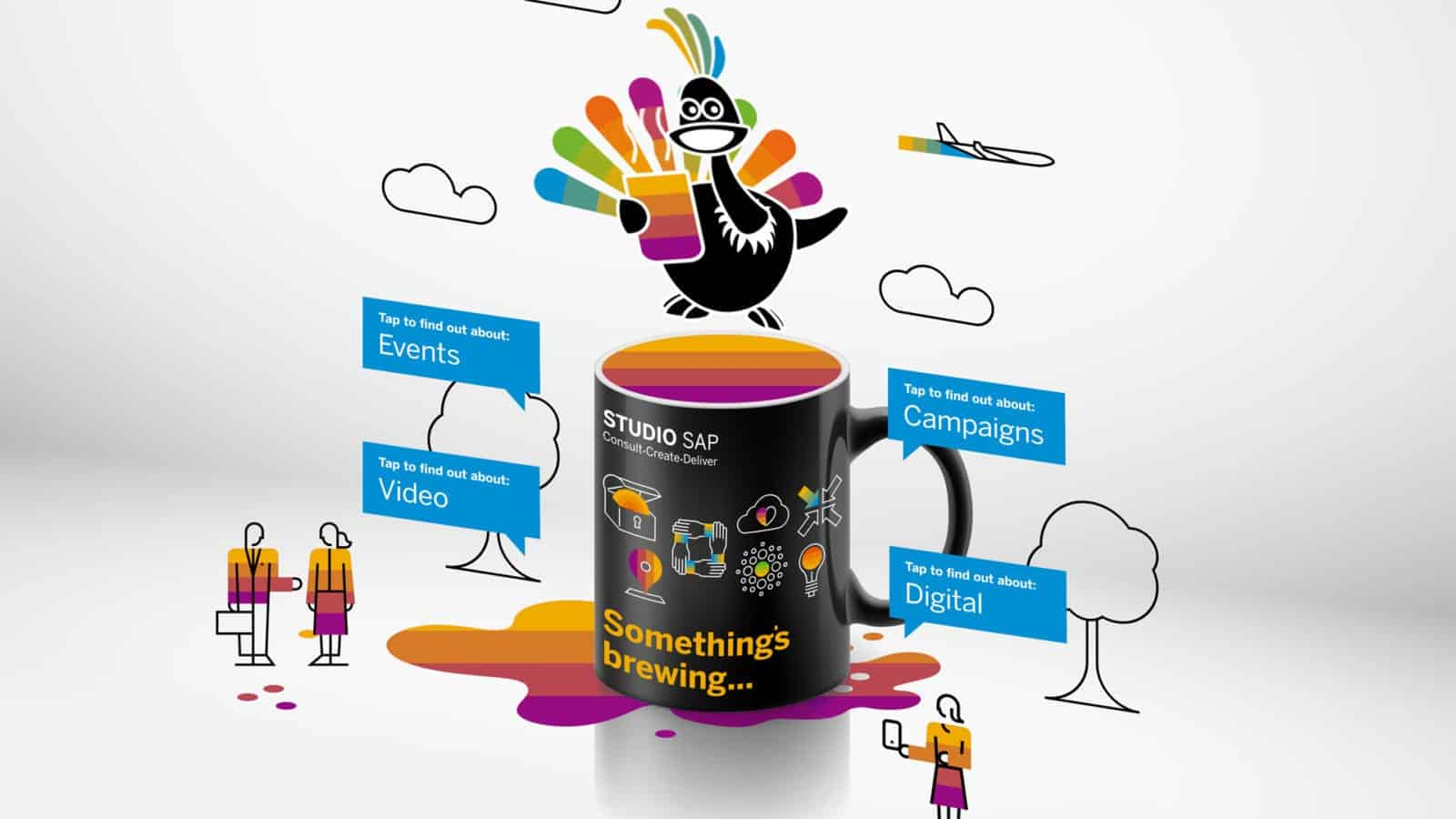 Studio SAP Augmented Reality Promo Campaign on Reydar