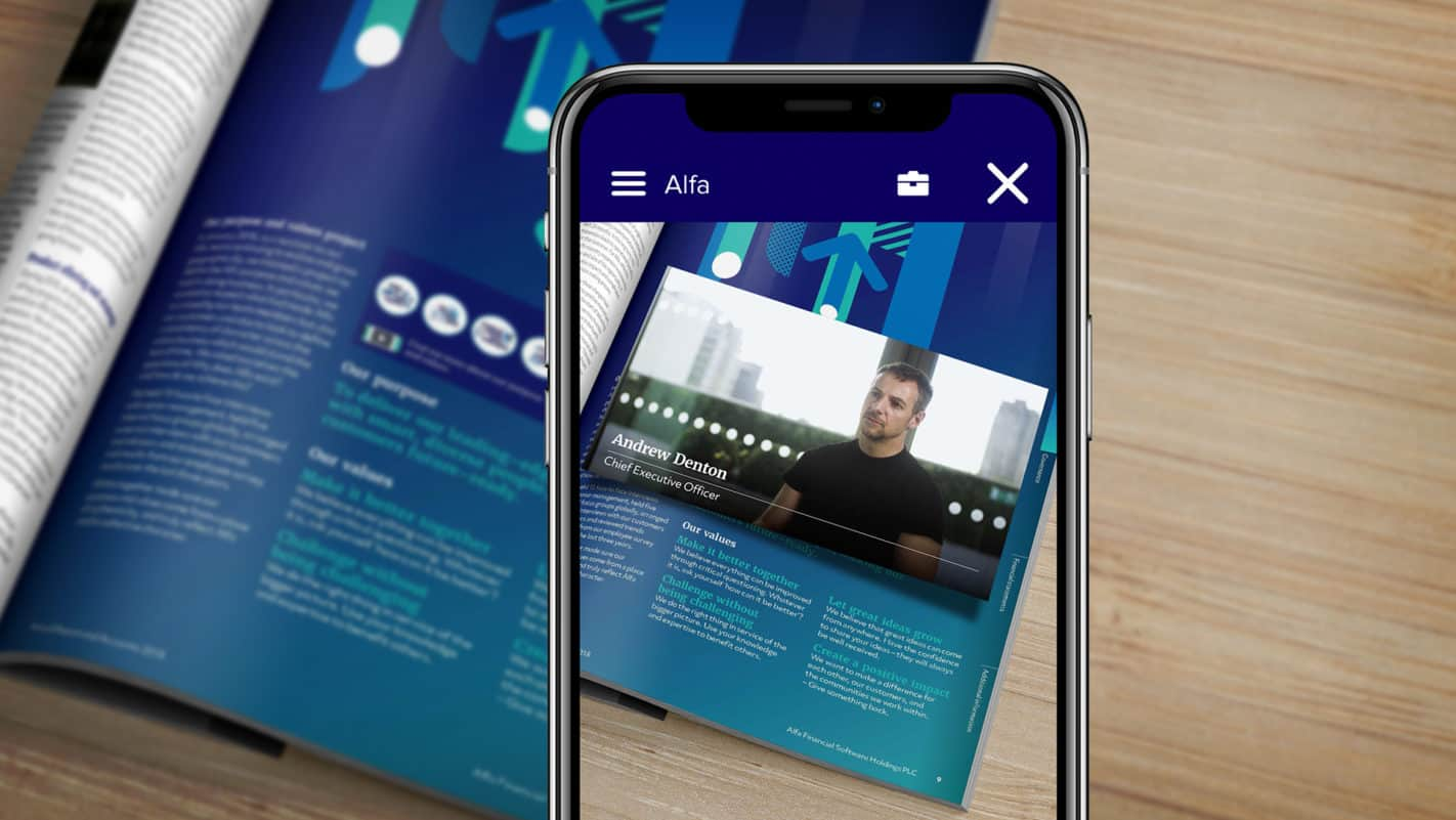 Alfa Augmented Reality Annual Report on Reydar
